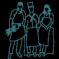 Illustration - Chef cuisiniers