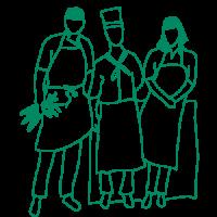 Illustration chefs lebonpicnic