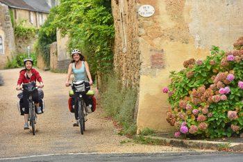 Pique-nique à vélo dans la Sarthe