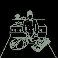 Illustration Lebonpicnic femme-chef