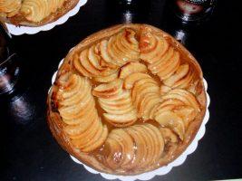 tarte aux pommes de la Boulnagerie Brillant à Lhomme