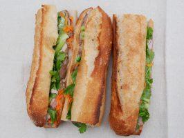 tri de sandwich baguette Park food